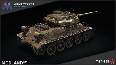 Mirukii's T-34-85E Remodel (Rudy Replacement) 1.5.1.0-0 [1.5.1.0], 2 photo
